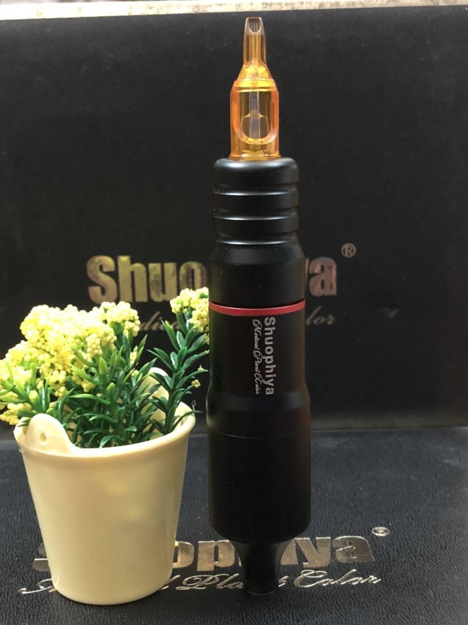 Máy phun môi siêu nhanh Pen - màu đen